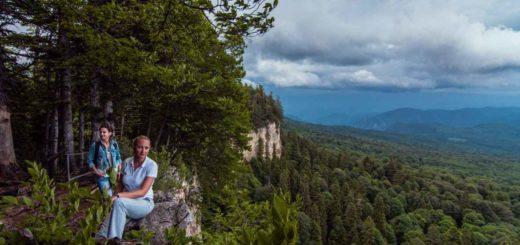 Смотровая площадка у Азишских пещер : Открой Россию в TopTripTip
